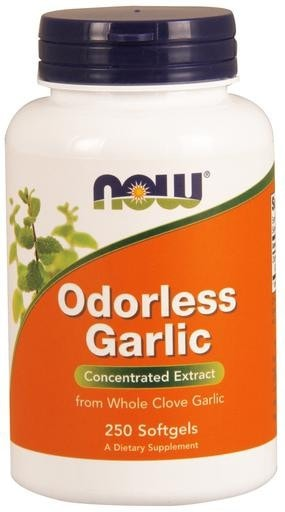 NOW Foods Odorless Garlic 250softgels - AdvantageSupplements.com
