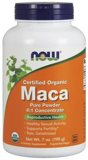 NOW Foods Organic Maca Powder 7oz