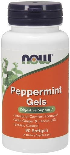 NOW Foods Peppermint Gels 90softgels - AdvantageSupplements.com