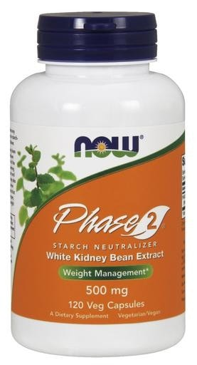 NOW Foods Phase 2 500mg 120 veggie caps - AdvantageSupplements.com