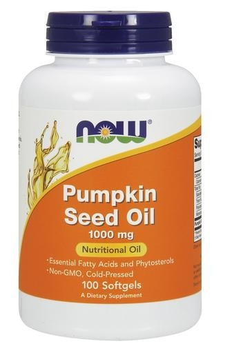 NOW Foods Pumpkin Seed Oil 1000mg 100softgels - AdvantageSupplements.com