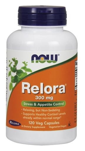 NOW Foods Relora 300mg 120 Veggie Caps - AdvantageSupplements.com