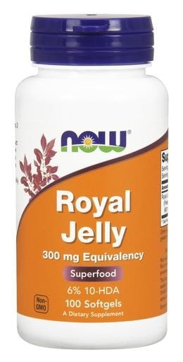 NOW Foods Royal Jelly 300mg 100softgels - AdvantageSupplements.com