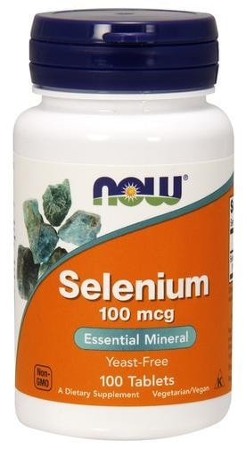 NOW Foods Selenium 100mcg 100tabs - AdvantageSupplements.com