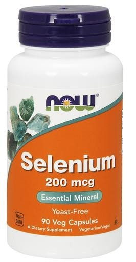 NOW Foods Selenium 200mcg 90 Veggie Caps - AdvantageSupplements.com