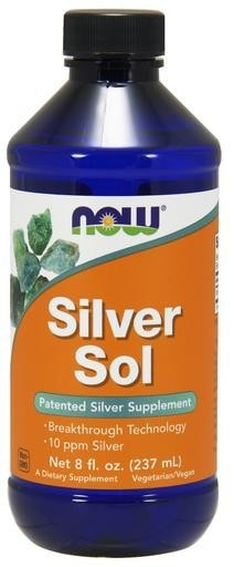 NOW Foods Silver Sol 10ppm 8 fl. oz
