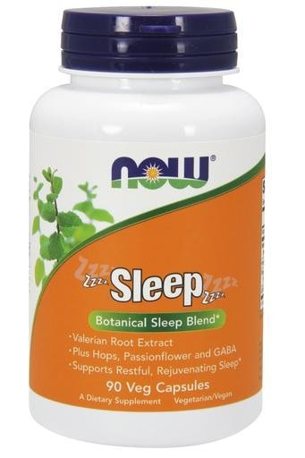 NOW Foods Sleep 90 Veggie Caps - AdvantageSupplements.com