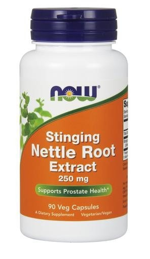NOW Foods Stinging Nettle Root Extract 250mg 90 Veggie Caps