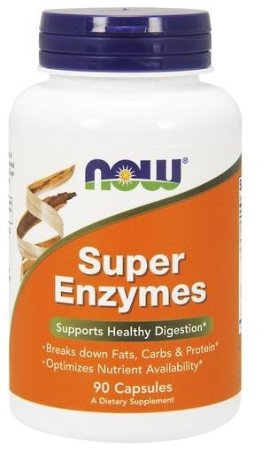 NOW Foods Super Enzymes 90caps - AdvantageSupplements.com