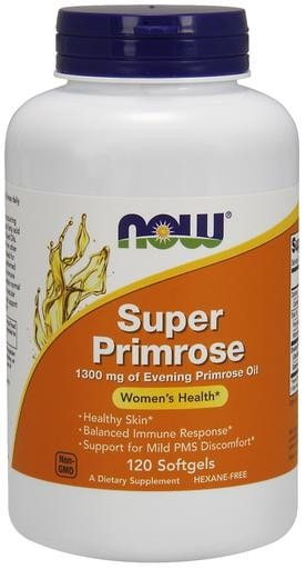 NOW Foods Super Primrose 120softgels - AdvantageSupplements.com