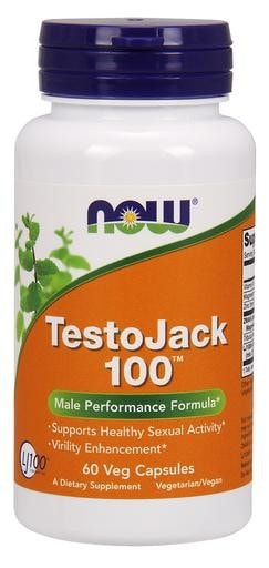 NOW Foods TestoJack 100 60 Veggie Caps