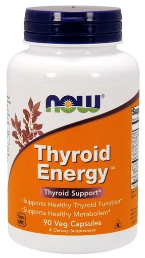 NOW Foods Thyroid Energy 90caps - AdvantageSupplements.com