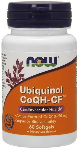 NOW Foods Ubiquinol CoQH-CF 60softgels