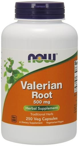 NOW Foods Valerian Root 500mg 250 Veggie Caps