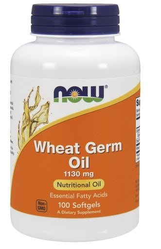 NOW Foods Wheat Germ Oil 1130mg 100softgels - AdvantageSupplements.com