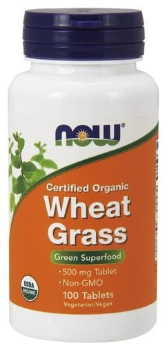NOW Foods Wheat Grass 500mg 100tabs