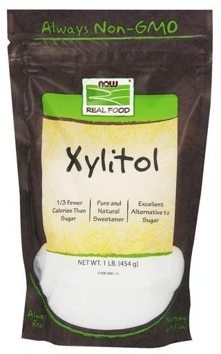 NOW Foods Xylitol 1lb - AdvantageSupplements.com