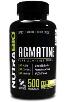 NutraBio Agmatine 500mg 90caps - AdvantageSupplements.com
