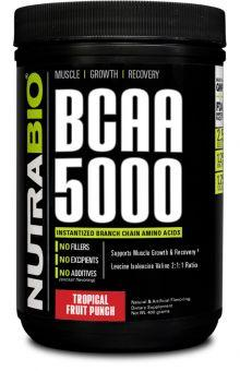NutraBio BCAA 5000 (60 servings) - AdvantageSupplements.com