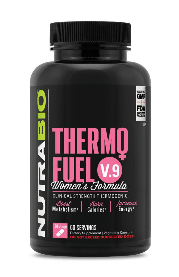 NutraBio Thermo Fuel V.9 Women's Formula 120vcaps - AdvantageSupplements.com