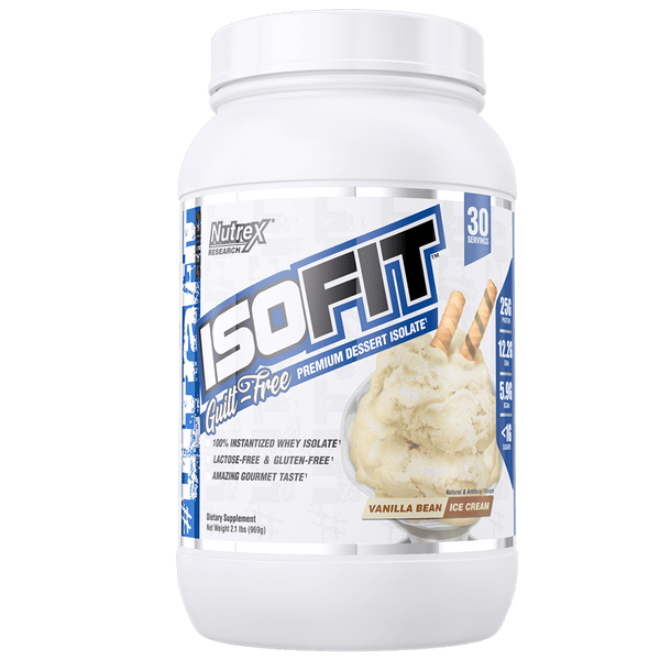 Nutrex IsoFit Whey Protein Isolate 30 servings