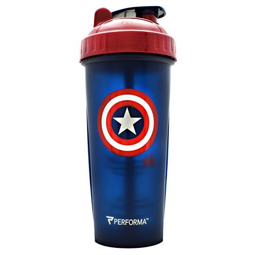 PerfectShaker Avengers Infinity War Series Captain America 28oz Shaker Cup - AdvantageSupplements.com