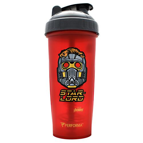 PerfectShaker Avengers Infinity War Series Star Lord 28oz Shaker Cup - AdvantageSupplements.com