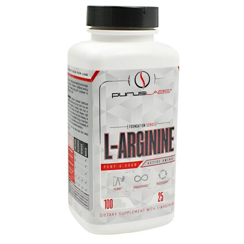 Purus Labs Foundation Series L-Arginine 100caps - AdvantageSupplements.com