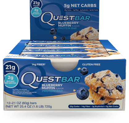 Quest Nutrition Protein Bar (12 bars) - AdvantageSupplements.com