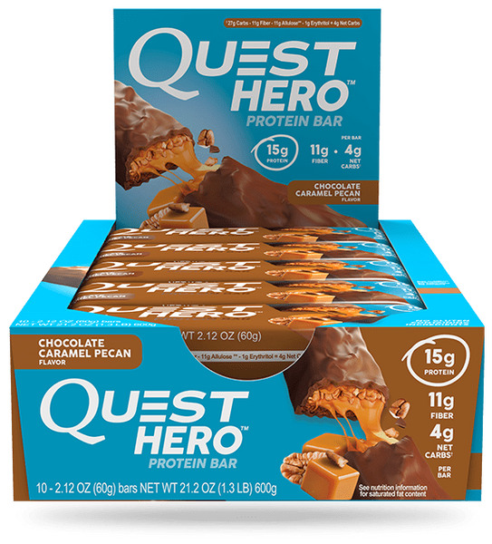 Quest Nutrition Hero Protein Bars 10ct - AdvantageSupplements.com