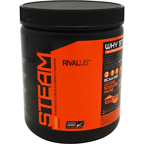 RIVALUS Steam BCAA 30 servings - AdvantageSupplements.com
