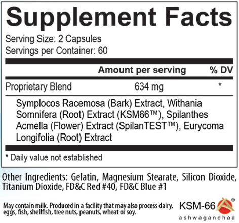 USP Labs Ultimate-T Nutrition facts