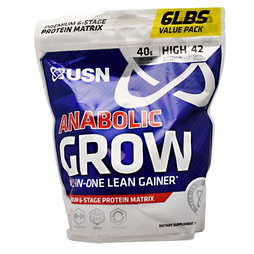 USN Premium Select Anabolic Grow Lean Gainer 42 Scoops (14 servings)