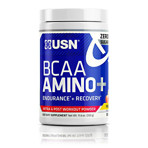 USN BCAA Amino+ 30 servings - AdvantageSupplements.com