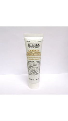 Kiehl's Calendula deep cleansing foaming face wash 1.0 fl oz - Spa-llywood.com
