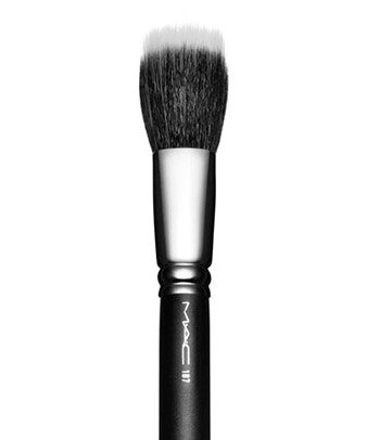 M  A  C  Cosmetics 187 Duo Fibre Face Brush - Spa-llywood