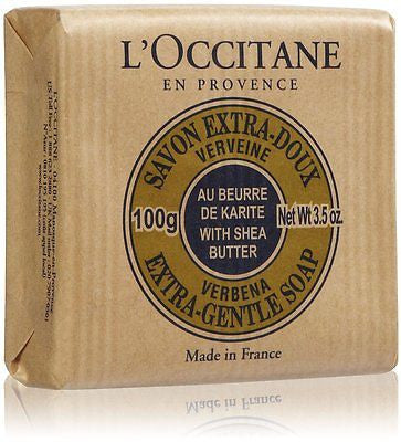 L'Occitane Verbena Shea Butter Soap 12 pk. - Spa-llywood.com