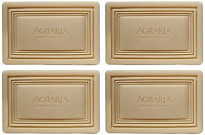 Agraria Lemon Verbena Soap 4 pk - Spa-llywood.com