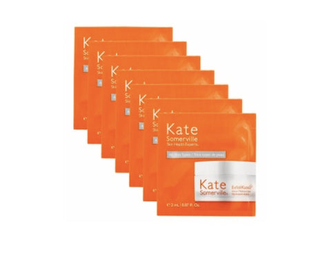 7 Kate Somerville ExfoliKate Glow Moisturizer Sample Packets 2ml Each - Spa-llywood.com