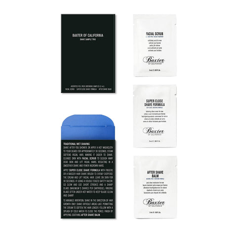 Baxter of California Skincare Sample Trio - Spa-llywood.com