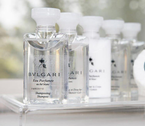 Bvlgari Eau Parfumee au the blanc Travel Set - Spa-llywood.com