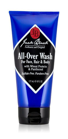 Jack Black All-Over Wash for Face, Hair & Body - Spa-llywood