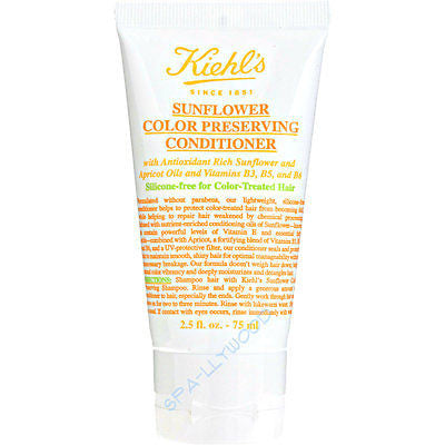 Kiehl's Sunflower Oil Color Preserving Conditioner 2.5 oz - Spa-llywood.com