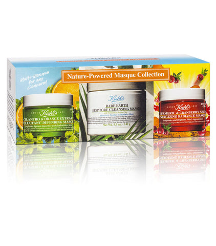 Kiehl's Nature Powered Masque Collection - Spa-llywood