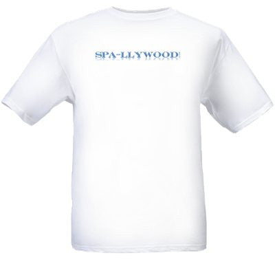 Spa-llywood T-Shirt Med. - Spa-llywood