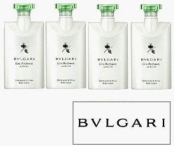 Bvlgari Eau Parfumee au the Vert Body Lotion 4pk. - Spa-llywood