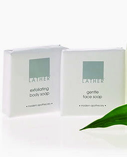 LATHER exfoliating body Soap - Spa-llywood