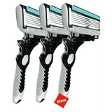 Men's Razor 6 Blade Shaving Razors with Razor Handle - Spa-llywood.com