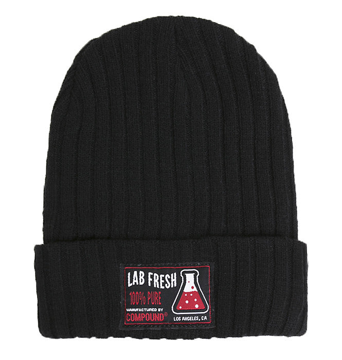 Lab Fresh Ribbed Knit Beanie