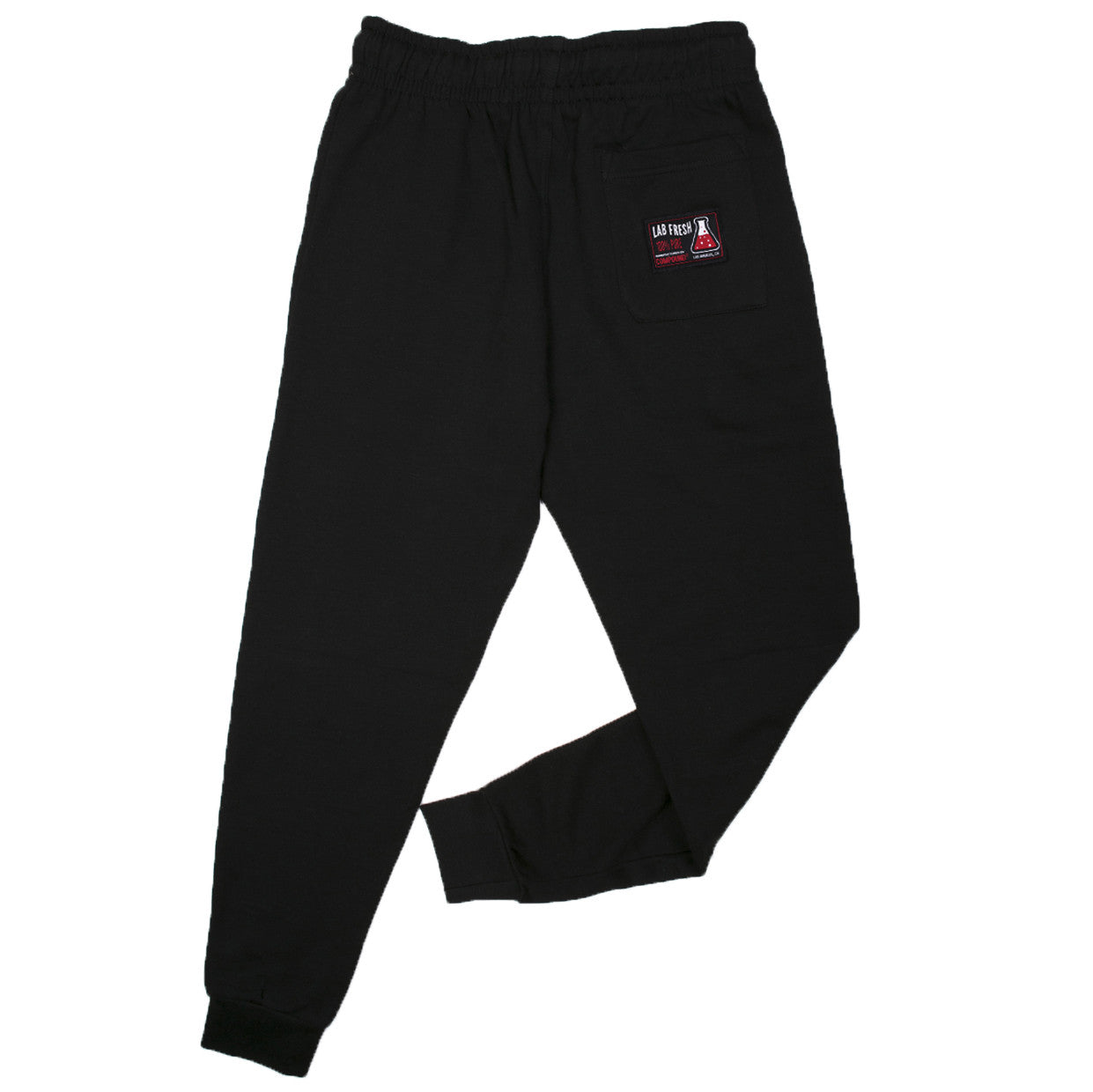 Skull & Bone Fleece Jogger Pants (Black)